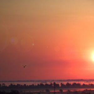 Кирикилинский закат. Автор - Мартынов Виктор